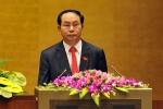 Ông Trần Đại Quang tái cử Chủ tịch nước