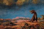 Những bức tranh màu siêu thực về quái vật thời tiền sử