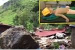 Sạt lở đá làm sập nhà dân Sơn La: Bé trai mất đôi chân, mẹ bị thương nặng