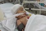 Nam Định: Em bé bị ti vi rơi trúng đầu qua đời