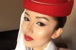 Cô gái Việt xinh đẹp trở thành tiếp viên của hãng hàng không quốc tế Dubai