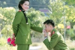 Ảnh cưới 'Dưới nắng vàng' lãng mạn của hai chiến sĩ công an Hà Giang