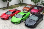 Phan Thành 'đốt' trăm tỷ cho siêu xe trong hơn 1 năm