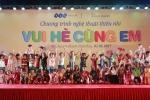 Tưng bừng chương trình 'Vui hè cùng em' của FLC dành cho thiếu nhi Vĩnh Thịnh