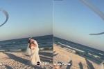 Phi đội 'Thiên thần xanh' trình diễn ngoạn mục, khuấy động đám cưới đôi trẻ