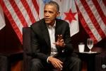 Ông Obama nhận gần nửa triệu USD cho một lần phát biểu