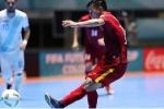 Dừng hình trận thắng lịch sử của Futsal Việt Nam tại World Cup