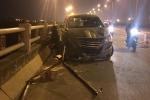 Bị 'xe điên' húc văng trên cầu Thanh Trì, nam sinh viên chết oan uổng