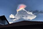 Hiện tượng cầu vồng lửa kỳ lạ xuất hiện trên bầu trời Singapore