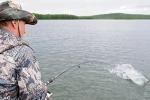 Tổng thống Putin thích thú với chuyến câu cá tại Siberia