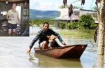 Nước hồ thủy điện Đồng Nai 2 dâng cao, 40 hộ dân ngập nặng