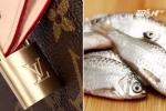 Bà lão Đài Loan dùng túi hàng hiệu Louis Vuitton đựng cá 'gây sốt' mạng xã hội