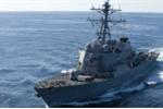 Tàu khu trục tên lửa Mỹ cập cảng Đà Nẵng