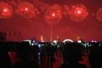 Triều Tiên bắn pháo hoa rực rỡ mừng sinh nhật cố Chủ tịch Kim Jong-il