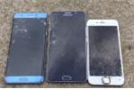 Galaxy Note 5 chịu 'tra tấn' tốt hơn Galaxy Note 7, iPhone 6s