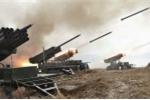 Cận cảnh vũ khí Triều Tiên khai hỏa ồ ạt trong tập trận bắn đạn thật quy mô lớn