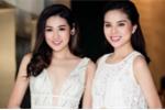 Hoa hậu Kỳ Duyên đọ vẻ gợi cảm với Á hậu Tú Anh