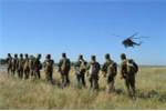 Cận cảnh huấn luyện lính dù đặc nhiệm Nga
