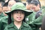 260 'chiến sỹ nhí' xuất quân tham dự học kỳ quân đội