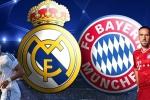 Link xem trực tiếp Real Madrid vs Bayern Munich tứ kết cúp C1 châu Âu 2017