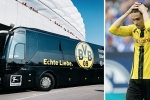 Nổ xe bus chở đội Dortmund nghi bị khủng bố, hoãn trận Dortmund vs Monaco