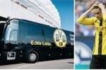 Hinh anh No xe bus truoc them dai chien Dortmund vs Monaco, 1 cau thu bi thuong