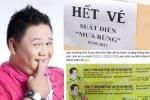 Sân khấu ế vì bị tẩy chay, Minh Béo phát vé miễn phí nhưng vẫn trưng bảng 'hết vé'