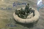 Chuyện thần kỳ về 11 ngày dùng quần lót bắt cá để sinh tồn của 6 phi công Anh