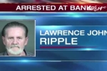 Chán vợ, cụ ông 70 tuổi đi cướp ngân hàng để được... ngồi tù