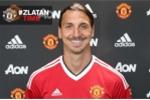 Ibrahimovic chính thức gia nhập Manchester United