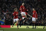 Ibrahimovic ghi bàn đẳng cấp, Man Utd hòa kịch tính Liverpool