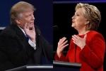 'Trump khịt mũi' và bộ đồ đỏ rực của bà Clinton gây 'sốt' mạng xã hội