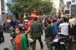 Hà Nội: Thanh niên nghi 'ngáo đá' phá nghĩa trang và chém bị thương công an