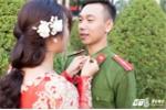 4 bộ ảnh cưới của chiến sỹ cảnh sát gây sốt dân mạng