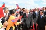 Tổng Bí thư Nguyễn Phú Trọng hội kiến Thủ tướng Lào Thongloun Sisoulith
