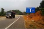 Thót tim biển báo giao thông dẫn vào đường cụt, vực thẳm ở Hà Tĩnh
