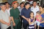 Phó Thủ tướng đến thăm gia đình chiến sỹ trên máy bay Casa-212 gặp nạn