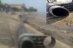 Ngư dân phát hiện 'vòi khủng' nghi là đường ống xả thải ra biển