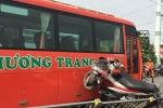 Xe khách Phương Trang đâm 7 xe máy trên cầu vượt: Do chạy tốc độ cao