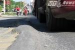 VTC News vào cuộc, 'bẫy tử thần' trên quốc lộ 5 đã 'biến mất'