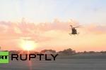 Video: Chiến cơ Su-25 cất cánh ngoạn mục giữa hoàng hôn
