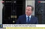 Video Thủ tướng Anh tuyên bố từ chức