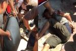 Nam thanh niên cầm dao đuổi chém hàng loạt người trên phố Thủ đô