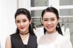 'Người đẹp truyền thông' Ngọc Vân hội ngộ đàn chị Huyền My