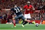 Paul Pogba khởi đầu tệ hại không ngờ ở Manchester United