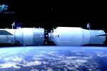 Tàu vũ trụ Trung Quốc kết nối thành công với trạm Thiên Cung-2