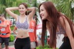 Hoa hậu Mai Phương Thuý khoe eo thon hút ánh nhìn