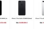 Vì sao iPhone 7 Plus Jet Black khan hàng tại Việt Nam?