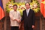 Việt Nam, Philippines cam kết duy trì và thúc đẩy hòa bình, ổn định ở Biển Đông