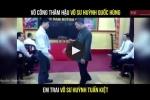 Video: Võ công thâm hậu của em trai Chưởng môn Nam Huỳnh Đạo chuẩn bị đấu Flores